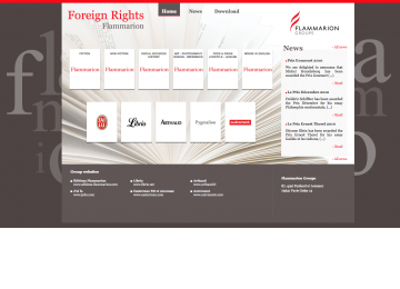 Flammarion Groupe - Foreign Rights